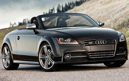 2012 Audi TT, Front Right Quarter View (Audi of America, Inc.), manufacturer, exterior