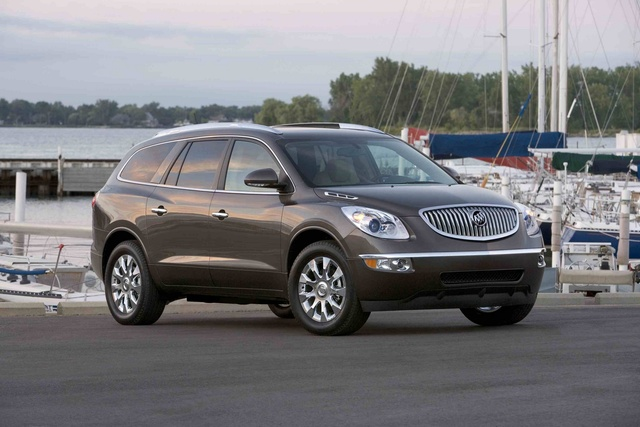 2012 Buick Enclave, Front Right Quarter View © GM Corp, exterior, manufacturer
