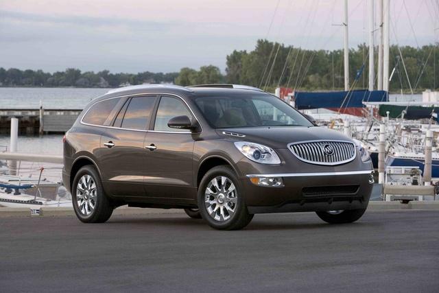 2012 Buick Enclave, Front Right Quarter View © GM Corp, exterior, manufacturer