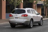 2012 Buick Enclave, Back Right Quarter View, manufacturer, exterior