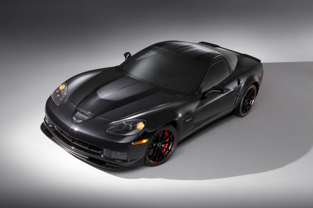 2012 Chevrolet Corvette, Overhead View (General Motors Corporation), exterior, manufacturer