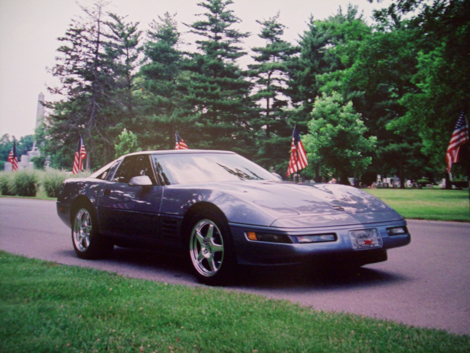 1991 Chevrolet Corvette Coupe, Picture of 1991 Chevrolet Corvette 2 Dr STD Hatchback, exterior