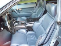 1991 Chevrolet Corvette Coupe, Picture of 1991 Chevrolet Corvette 2 Dr STD Hatchback, interior