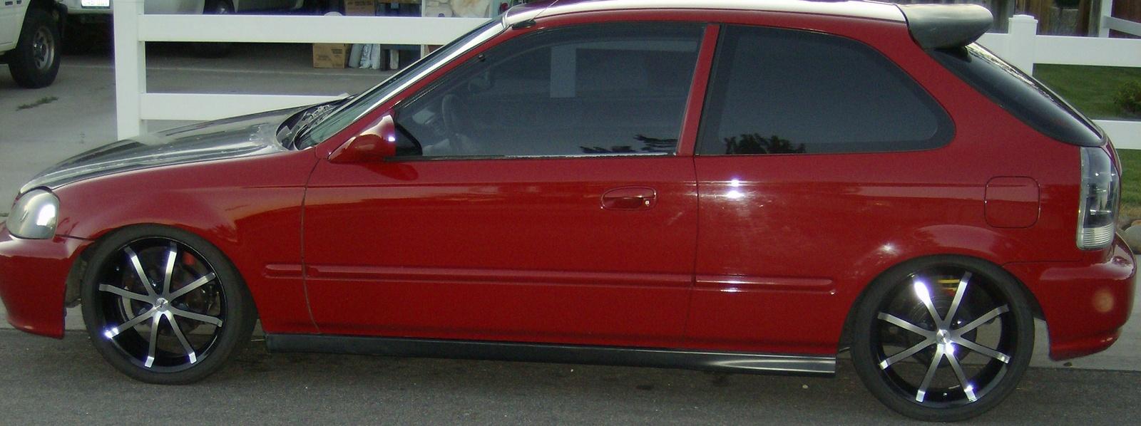 picture of 2000 honda civic cx hatchback exterior. Black Bedroom Furniture Sets. Home Design Ideas