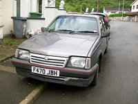 1988 Vauxhall Cavalier Overview