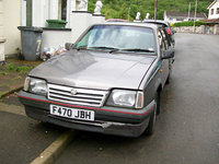 1988 Vauxhall Cavalier Overview