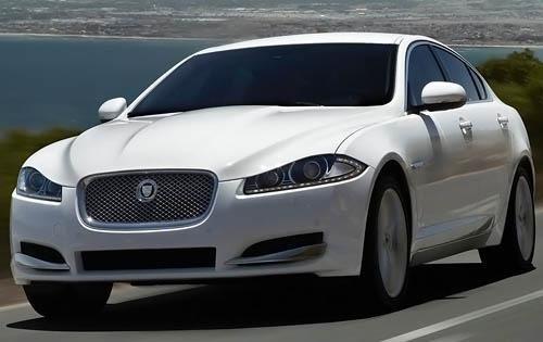 2012 Jaguar XF, Front RIght Quarter View (Jaguar Cars North America), exterior, manufacturer
