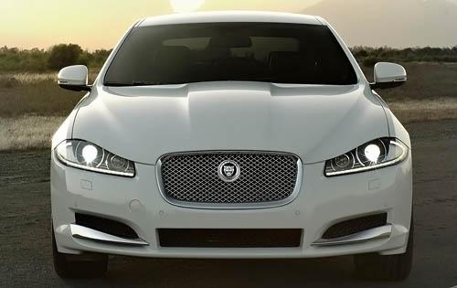 2012 Jaguar XF, Front View (Jaguar Cars North America), exterior, manufacturer