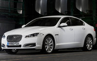 2012 Jaguar XF, Front Left Quarter View (Jaguar Cars North America), manufacturer, exterior