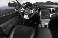 2012 Jeep Grand Cherokee, Interior View (Chrysler LLC), interior, manufacturer