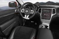 2012 Jeep Grand Cherokee, Interior View (Chrysler LLC), interior, manufacturer