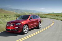 2012 Jeep Grand Cherokee, Front Left Quarter View (Chrysler LLC), exterior, manufacturer