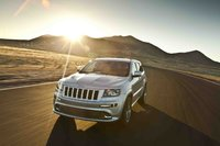 2012 Jeep Grand Cherokee, Front View (Chrysler LLC), exterior, manufacturer