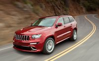 2012 Jeep Grand Cherokee, Front Left Quarter View (Chrysler LLC), manufacturer, exterior