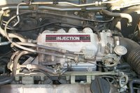 1991 Mazda Protege 4 Dr DX Sedan picture, engine