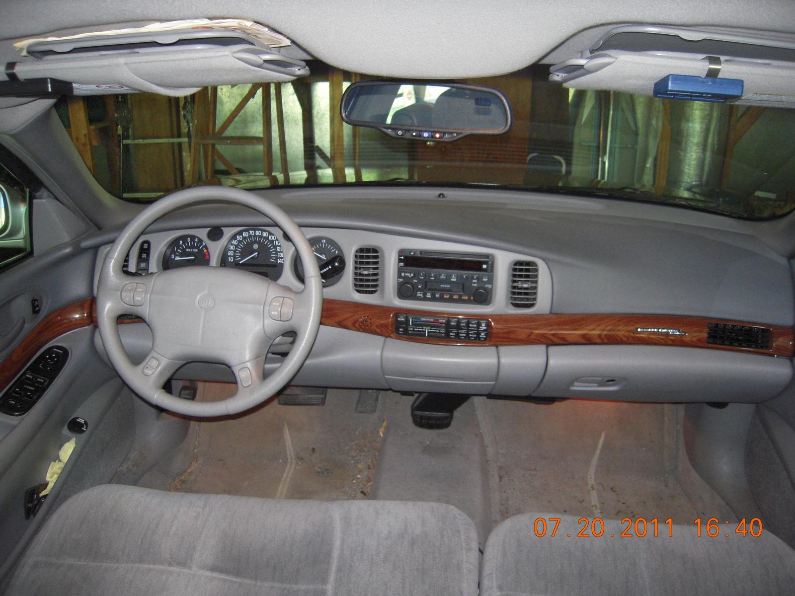 2003 Buick LeSabre Custom, dash, interior