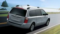 2012 Kia Sedona, Back Right Quarter View (Hyundai Motor Company), exterior, manufacturer