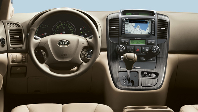 2012 Kia Sedona, Interior View (Hyundai Motor Company), interior, manufacturer