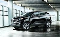 2012 Kia Sportage, Front Left Quarter View (Hyundai Motor Company), exterior, manufacturer