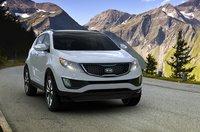 2012 Kia Sportage, Front View (Hyundai Motor Company), exterior, manufacturer