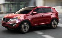 2012 Kia Sportage, Left Side View (Hyundai Motor Company), exterior, manufacturer
