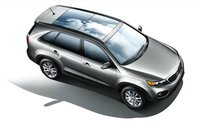 2012 Kia Sorento, Overhead View (Hyundai Motor Company), exterior, manufacturer