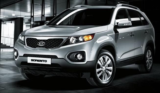2012 Kia Sorento, Front Left Quarter View (Hyundai Motor Company), exterior, manufacturer