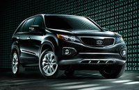 2012 Kia Sorento, Front Right Quarter View (Hyundai Motor Company), exterior, manufacturer, gallery_worthy