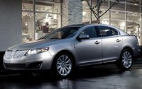 2012 Lincoln MKS, Front Left Quarter View (Ford Motor Company), exterior, manufacturer