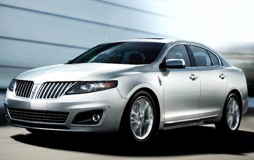 2012 Lincoln MKS, Front Left Quarter View (Ford Motor Company), manufacturer, exterior