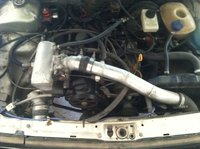 Picture of 1989 Volkswagen Fox, engine