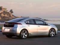 2012 Chevrolet Volt, Back quarter view; copyright AOL Autos. , manufacturer, exterior