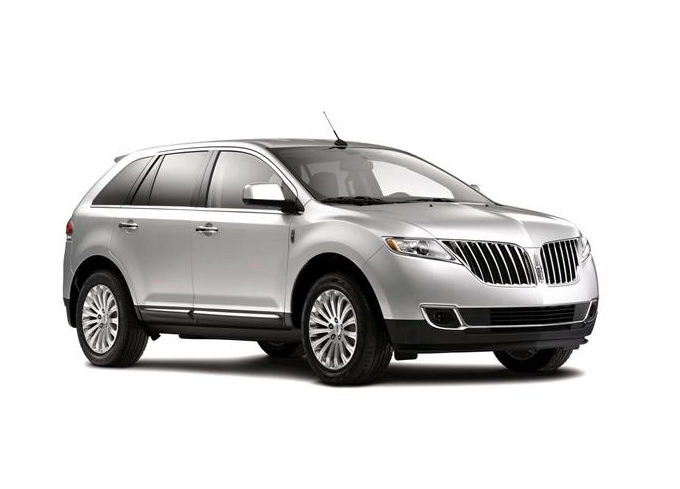 2012 Lincoln MKX, Front Right Quarter View (Lincoln-Mercury), manufacturer, exterior
