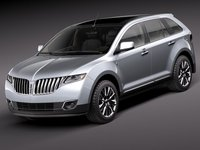 2012 Lincoln MKX, Front Left Quarter View (Lincoln-Mercury), exterior, manufacturer