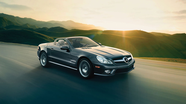 2012 Mercedes-Benz SL-Class, Overhead View (Daimler AG), exterior, manufacturer