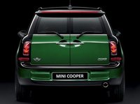 2012 MINI Cooper Clubman, Back View (BMW of North America, Inc.), exterior, manufacturer
