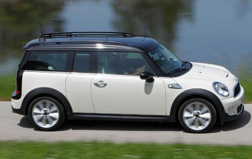 2012 MINI Cooper Clubman, Right Side View (BMW of North America, Inc.), manufacturer, exterior