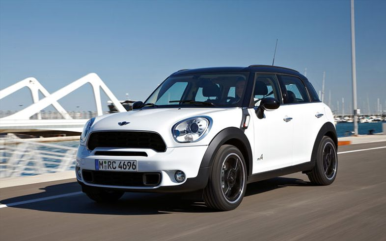2012 MINI Countryman, Front Left Quarter View (BMW of North America, Inc.), manufacturer, exterior