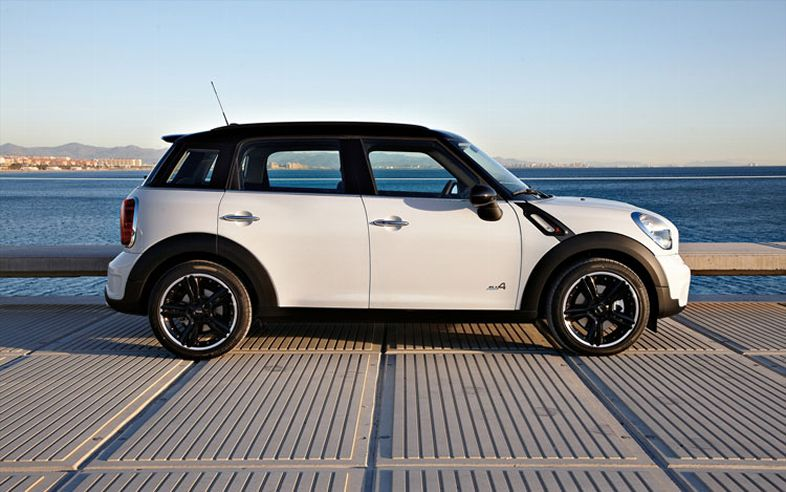 2012 MINI Countryman, Right Side View (BMW of North America, Inc.), manufacturer, exterior