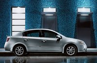 2012 Nissan Sentra, Right Side View (Nissan Motors Corporation, USA), exterior, manufacturer