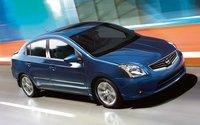 2012 Nissan Sentra, Front Right Quarter VIew (Nissan Motors Corporation, USA), exterior, manufacturer