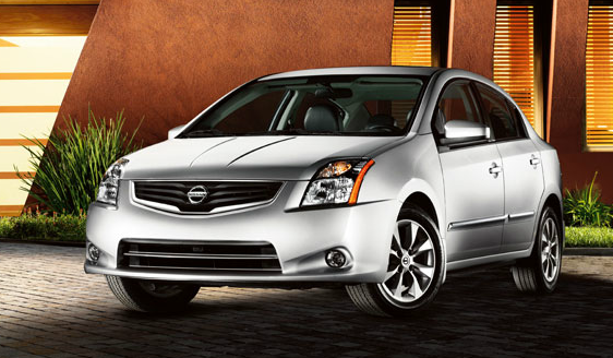 2012 Nissan Sentra, Front Left Quarter View (Nissan Motors Corporation, USA), manufacturer, exterior