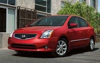 2012 Nissan Sentra, Front Left Quarter View (Nissan Motors Corporation, USA), exterior, manufacturer