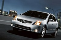 2012 Nissan Sentra, Front Left Quarter View (Nissan Motors Corporation, USA), exterior, manufacturer