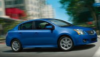 2012 Nissan Sentra, Front Right Quarter View (Nissan Motors Corporation, USA), exterior, manufacturer