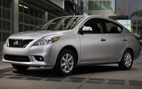 2012 Nissan Versa, Front Left Quarter View (Nissan Motors Corporation, USA), exterior, manufacturer