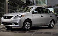 2012 Nissan Versa, Front Left Quarter View (Nissan Motors Corporation, USA), exterior, manufacturer