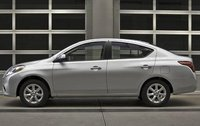 2012 Nissan Versa, Left Side View (Nissan Motors Corporation, USA), exterior, manufacturer