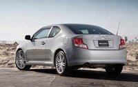 2012 Scion tC, Back Left Quarter View (Toyota Motor Sales, U.S.A., Inc.), exterior, manufacturer