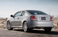 2012 Scion tC, Back Left Quarter View (Toyota Motor Sales, U.S.A., Inc.), manufacturer, exterior